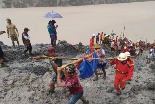 Các Bộ trưởng Ngoại giao ASEAN chia buồn về vụ sạt lở mỏ ở Myanmar
