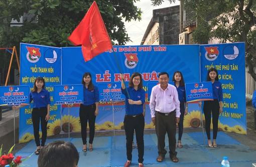 Phú Tân ra quân Chiến dịch mùa hè tình nguyện năm 2020