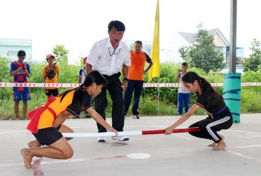 Khai mạc Giải đẩy gậy – kéo co thanh thiếu niên và trẻ tỉnh An Giang năm 2020