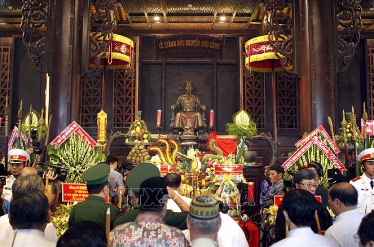 Lễ giỗ 320 năm Đức Lễ Thành hầu Nguyễn Hữu Cảnh