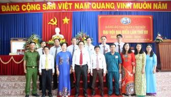 Đảng bộ thị trấn Chợ Mới tổ chức bầu cử lại cấp ủy và các chức danh chủ chốt (nhiệm kỳ 2020-2025)