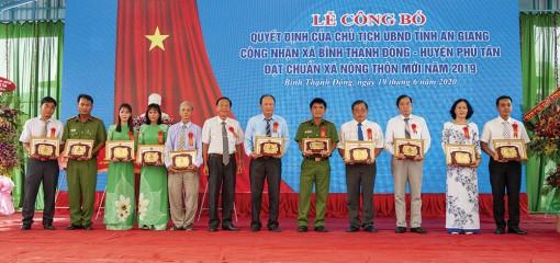 Sức lan tỏa các phong trào thi đua yêu nước ở Phú Tân