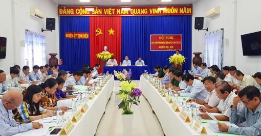 Hội nghị Ban Chấp hành Đảng bộ huyện Tịnh Biên lần thứ 21 (nhiệm kỳ 2015-2020)