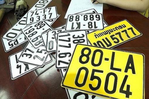 Hơn 1 triệu ô tô phải đổi sang biển số màu vàng từ 1-8