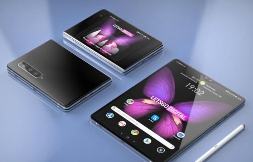 Samsung đặt tên mẫu điện thoại gập mới nhất là Galaxy Z Fold 2