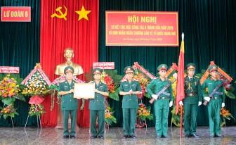 Lữ đoàn Pháo binh 6: Đón nhận huân chương Bảo vệ Tổ quốc hạng nhì