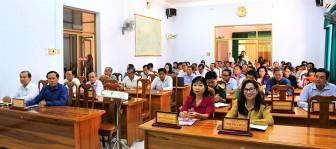Công bố dự thảo Văn kiện trình Đại hội đại biểu lần thứ XI Đảng bộ tỉnh An Giang