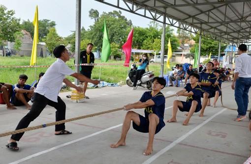 Tịnh Biên xuất sắc đoạt hạng nhất toàn đoàn Giải đẩy gậy – kéo co thanh thiếu niên và trẻ tỉnh An Giang năm 2020