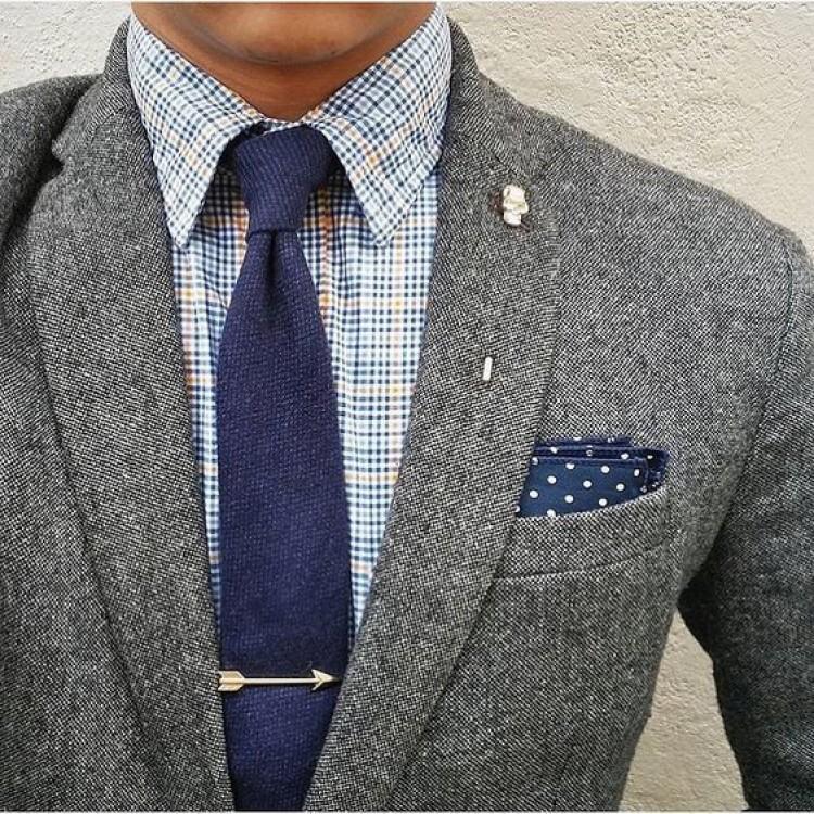 Bí quyết sử dụng phụ kiện cho cà vạt