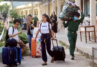 Hoàn thành cách ly tập trung 107 công dân tại Trường Quân sự tỉnh An Giang