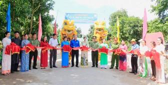 Khánh thành cầu Hy vọng 86 - cầu Trại Trị xã Bình Phước Xuân