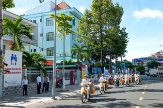 An Giang: Ra quân hưởng ứng ngày Bảo hiểm y tế Việt Nam 1- 7