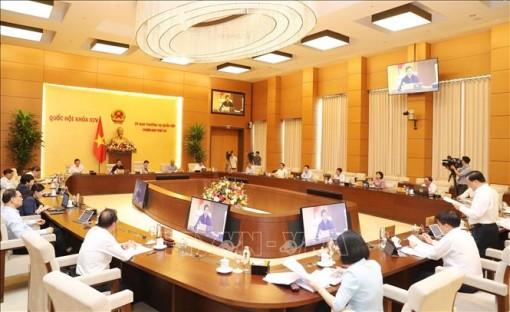 Ngày 13-7 khai mạc Phiên họp thứ 46 của Ủy ban Thường vụ Quốc hội