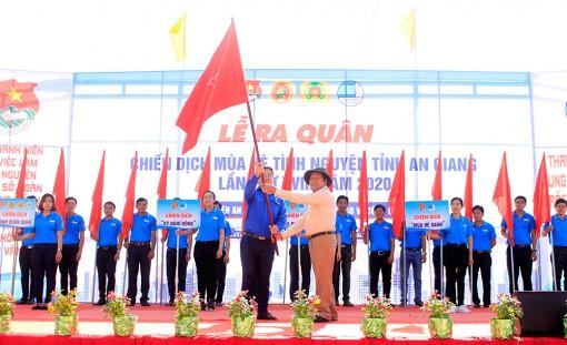 """Ra quân Chiến dịch """"Mùa hè tình nguyện"""" tỉnh An Giang lần thứ XVIII năm 2020"""