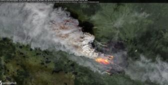 """Hơn 300 vụ cháy rừng nhấn chìm Siberia """"lạnh giá"""" trong lửa, khói"""