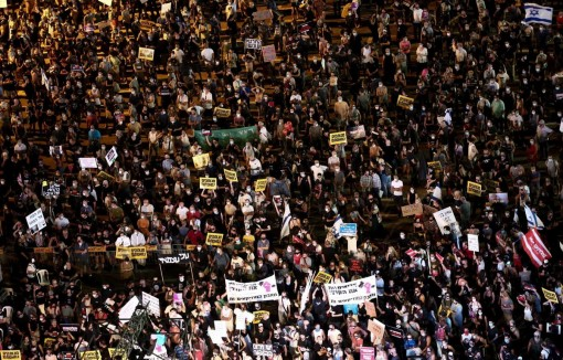 Israel: Biểu tình phản đối cách chính phủ ứng phó dịch COVID-19