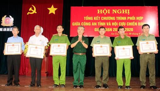Công an và Hội Cựu chiến binh phối hợp bảo vệ an ninh trật tự