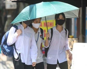 Thời tiết ngày 14-7: Bắc Bộ và Trung Bộ có nắng nóng gay gắt, chỉ số UV gây hại cao