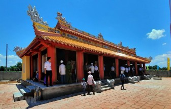 Gần 7 tỷ đồng xây dựng đền thờ Vua Hàm Nghi và các tướng sỹ Cần Vương