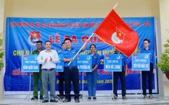 """Huyện đoàn Tịnh Biên: Ra quân chiến dịch """"Mùa hè tình nguyện""""  năm 2020"""