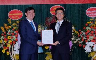 Công bố quyết định giao quyền Bộ trưởng Y tế với GS. TS Nguyễn Thanh Long