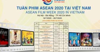 Tuần phim ASEAN tổ chức tại 3 thành phố lớn