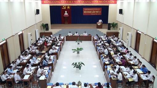 Hội nghị Ban Chấp hành Đảng bộ thị xã Tân Châu lần thứ 21 (mở rộng)