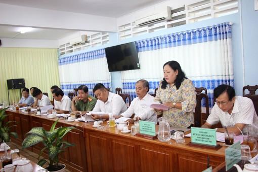 Chợ Mới: Tổ Đại biểu HĐND tỉnh đóng góp văn kiện trình Đại hội đại biểu Đảng bộ tỉnh lần thứ XI