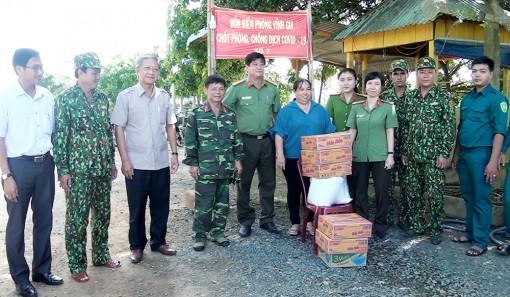 Tri Tôn xử lý 3 trường hợp xâm nhập trái phép từ Campuchia