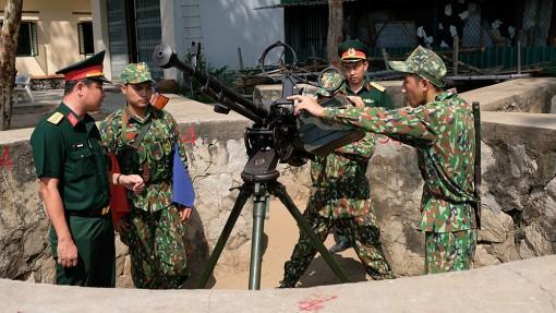 Phát huy tốt vai trò tham mưu, thực hiện thắng lợi nhiệm vụ quân sự, quốc phòng địa phương