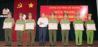 Sơ kết công tác Công an toàn tỉnh An Giang 6 tháng đầu năm 2020