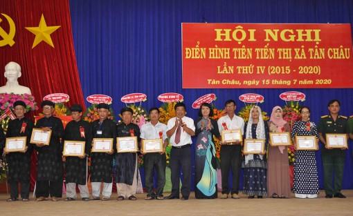 TX. Tân Châu: Hội nghị điển hình tiên tiến lần thứ IV