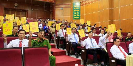 Kỳ họp lần thứ 15 HĐND TP. Long Xuyên, khóa XI (nhiệm kỳ 2016-2021)