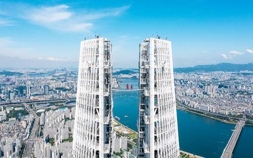 Ngắm thủ đô Seoul từ độ cao 541m