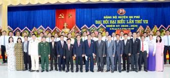 Đồng chí Ngô Công Thức tái đắc cử Bí thư Huyện ủy An Phú