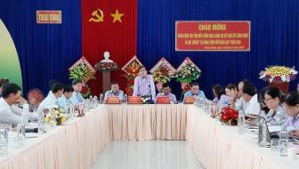 Thẩm định nông thôn mới nâng cao xã Thoại Giang