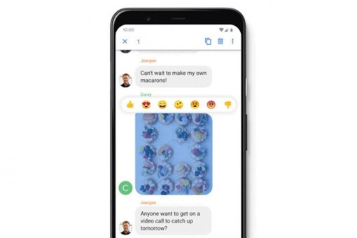 Google Messages thêm trình chỉnh sửa hình ảnh