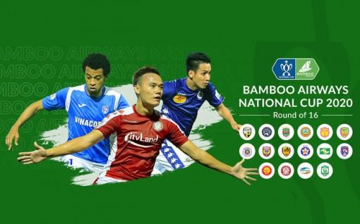 Điều chỉnh lịch thi đấu Cúp quốc gia 2020