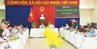 Châu Đốc: Sơ kết công tác phòng, chống dịch bệnh COVID-19