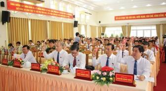 Chào mừng Đại hội đại biểu Đảng bộ huyện Chợ Mới lần thứ XII (nhiệm kỳ 2020-2025): Chợ Mới đột phá, đi đầu, phát huy các nguồn lực thúc đẩy phát triển kinh tế - xã hội