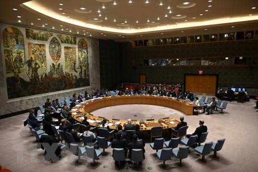 Hội đồng Bảo an LHQ thông qua Tuyên bố Chủ tịch và 2 nghị quyết