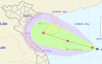 Vùng áp thấp trên Biển Đông tiếp tục mạnh thêm, cả nước mưa dông