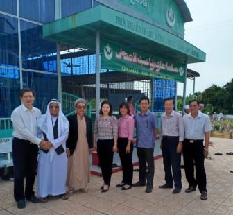 Chúc Tết Roya Haji tại  Thánh đường Hồi giáo xã Khánh Hòa