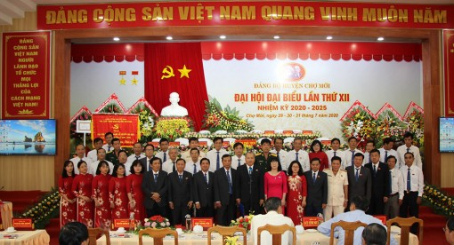 Đồng chí Võ Nguyên Nam tái đắc cử Bí thư Huyện ủy Chợ Mới khóa XII (nhiệm kỳ 2020-2025)