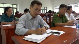 Châu Phú triển khai nhiệm vụ và các biện pháp phòng, chống dịch COVID-19
