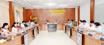 Thủ tướng chủ trì hội nghị trực tuyến toàn quốc ứng phó dịch  COVID-19