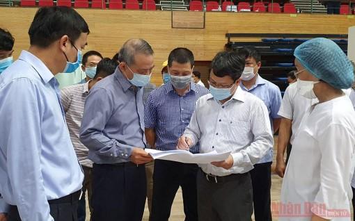 Đà Nẵng gấp rút hoàn thiện Bệnh viện dã chiến tại Cung thể thao Tiên Sơn