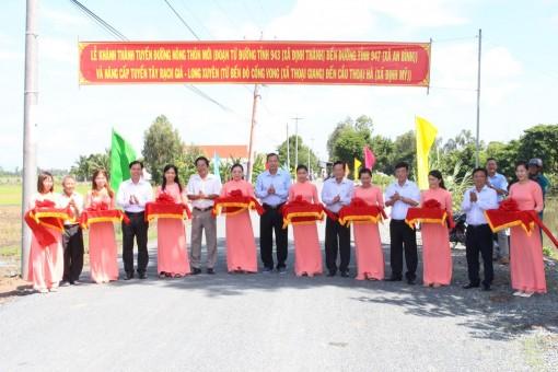 Thoại Sơn với những công trình ý nghĩa chào mừng Đại hội Đảng bộ huyện