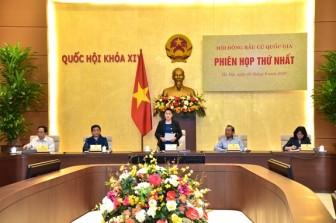 Chủ tịch Quốc hội Nguyễn Thị Kim Ngân chủ trì Phiên họp thứ nhất Hội đồng Bầu cử Quốc gia