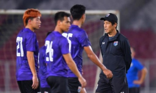 HLV Akira Nishino vẫn chưa thể trở lại Thái Lan